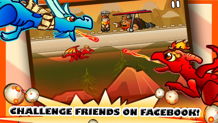 A Dragons Vs. Vikings Saga - Clash With Flying Enemies Free Game screenshot-4