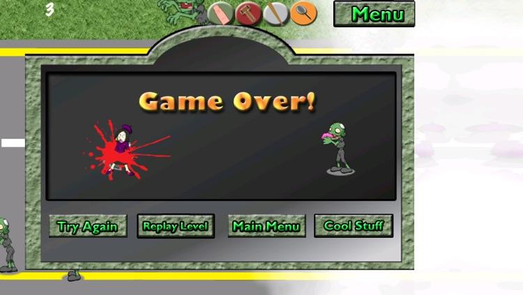 The Zombie War Game screenshot-4