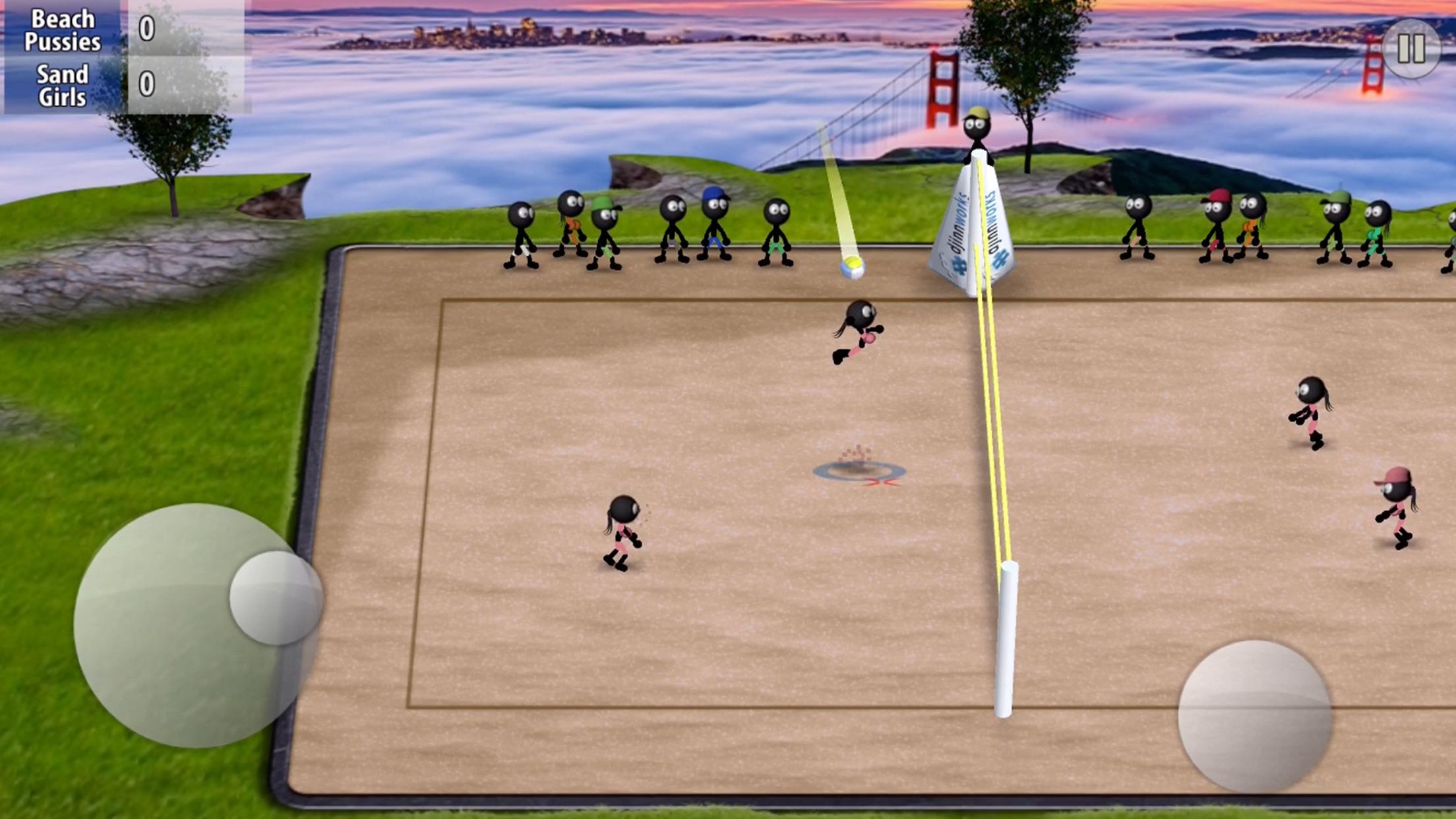 Stickman Volleyball Screenshot