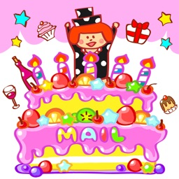 Birthday Animated Emoticons Mailer