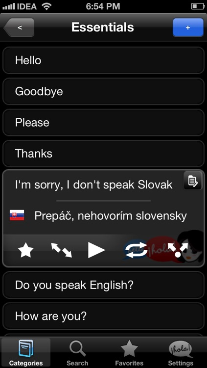 Lingopal Slovak - talking phrasebook