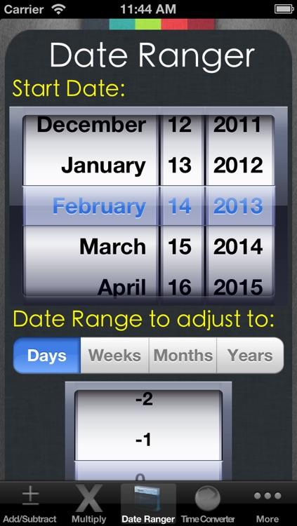 Date & Time Calculator (7 in 1) screenshot-3