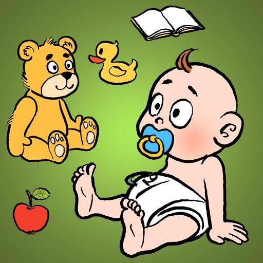 Илюша убирается - игра для детей (russian)
