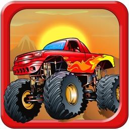 Monster Truck Offroad Destruction: Nitro Speed Race