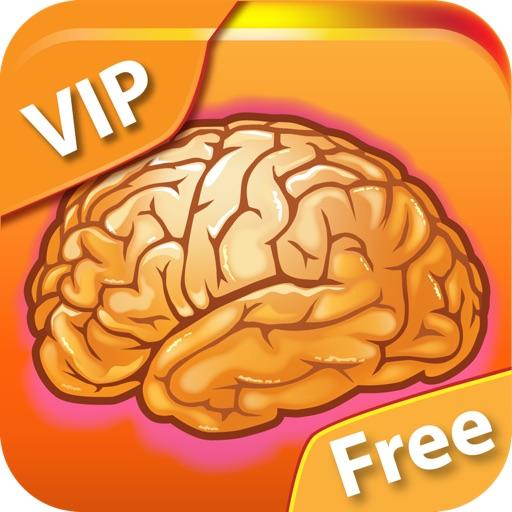 Мозготренер VIP Free - Игры для развития мозга: памяти, реакции, интуиции и других интеллектуальных способностей