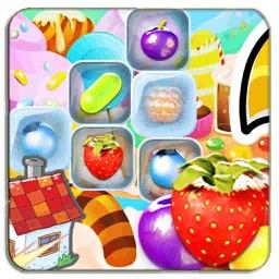 Fruit Crush Classic Match 3 Game