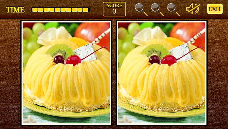 Find the differences Sweet Shop - Sweet Candy Shop + Cupcakes Birthday Deserts Photo Difference Edition Free Game screenshot-3