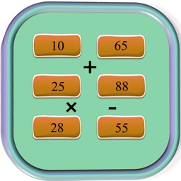 Brain Math Game For Addition - Subtraction - Multiplication - Division