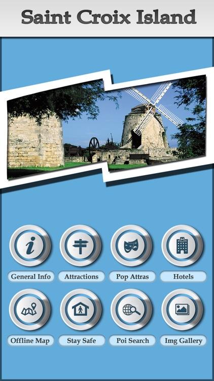 St Croix Island Offline Map Travel Guide