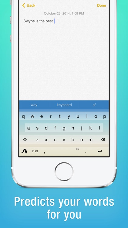 Swype app image