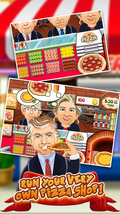 Trump's Pizza Restaurant Dash - 2016 Election on the Run Wall Cooking Game!