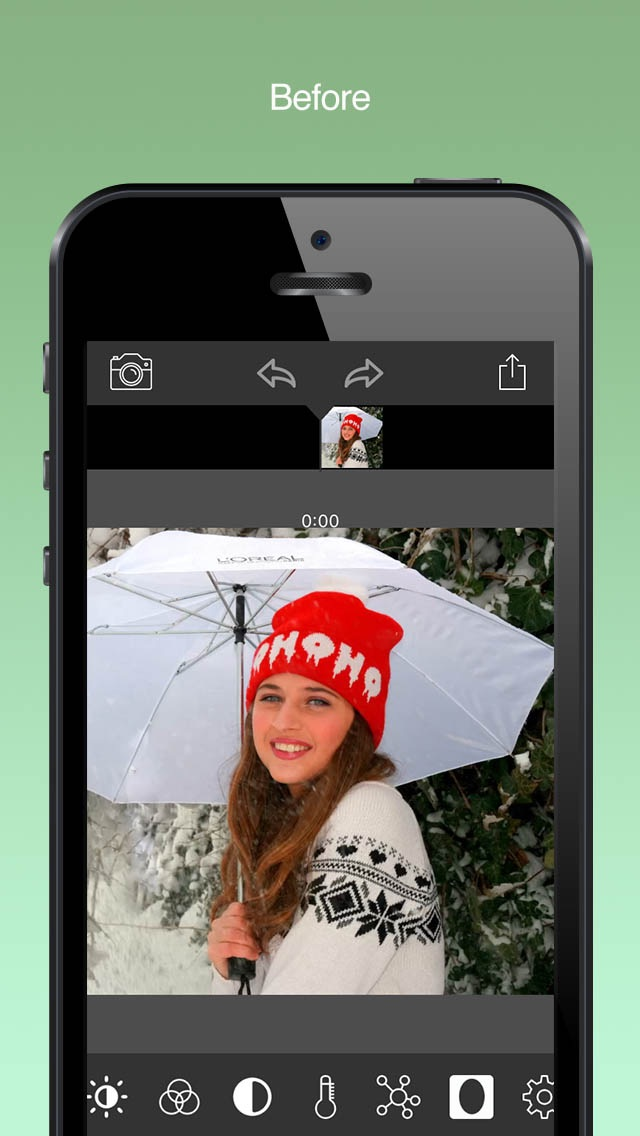 Screenshot #6 for Video Color Editor - Change Video Color, Add Video Filters and Vintage Effects