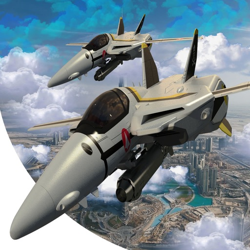 Plane Down Racing - F16 Mobile Fly War Game