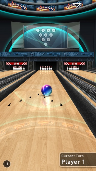 Bowling Game 3D Plus screenshot1