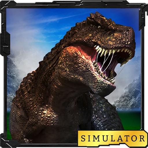 Dinosaur Raptor Simulator 3D : Angry Dino