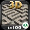 3D迷路 Lv100 - iPadアプリ