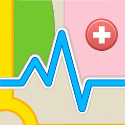 Ícone do app Mapa da Saúde