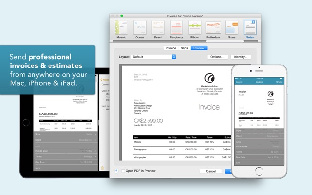 Billings Pro On The Mac App Store - Invoices and estimates for mac