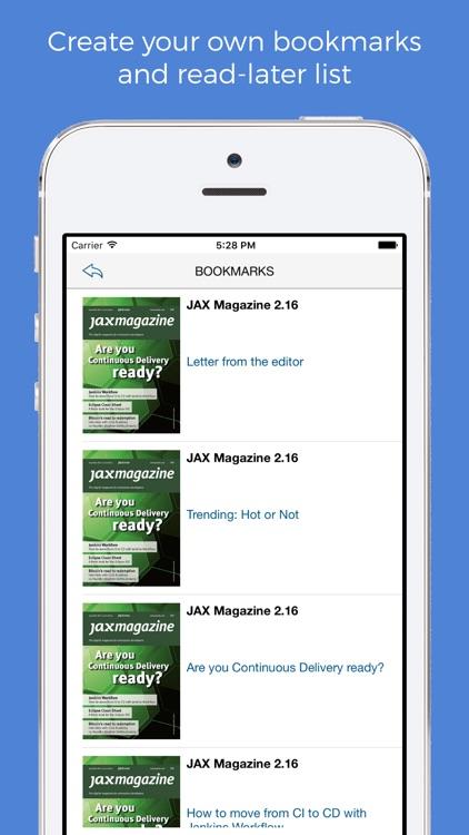 JAX Magazine. screenshot-3
