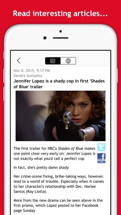 Free RSS Reader screenshot three