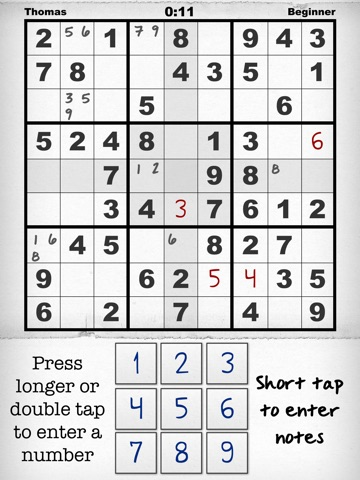 Simply Sudoku – the Free App for iPhone & iPad на iPad