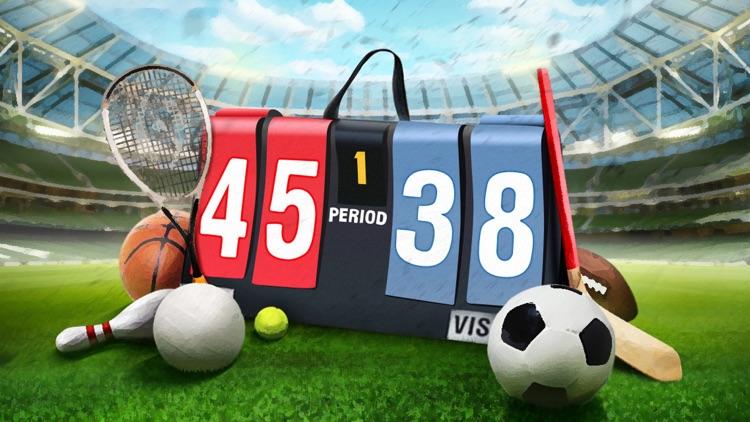 Scoreboard - Free Score Keeping on the Go screenshot-4