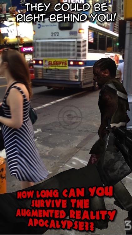 Zombies Everywhere! Augmented Reality Apocalypse (Halloween Edition) screenshot-4