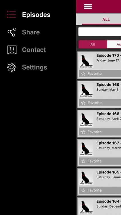 The DogCast Radio - Internet Radio for dog lovers screenshot-3