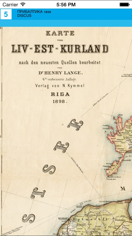 Baltic states (1898). Historical map. screenshot-4