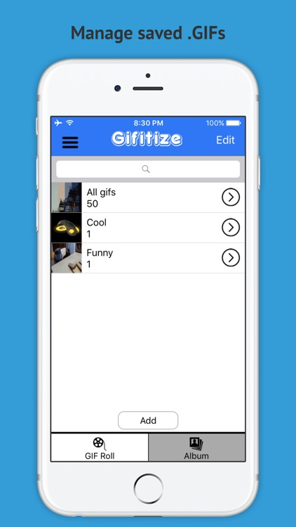 Gifitize - Old Twitter GIF Downloader screenshot-3