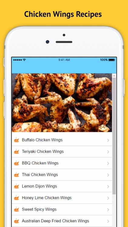 Chicken Wings Recipes screenshot-3