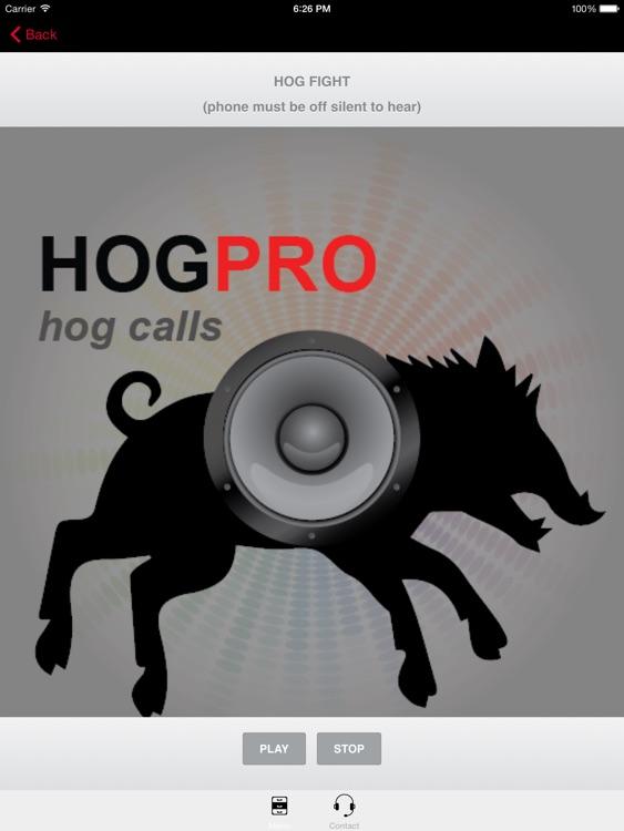 REAL Wild Hog Calls + Wild Boar Calls for Hunting - BLUETOOTH COMPATIBLE screenshot-0