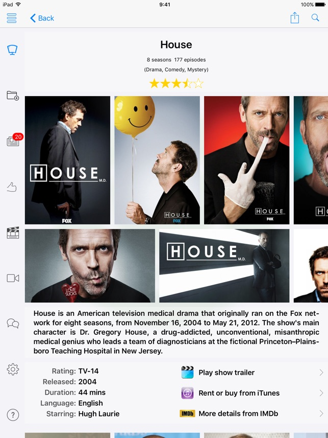 Movie and Television Genius - Film and TV Show Recommendations