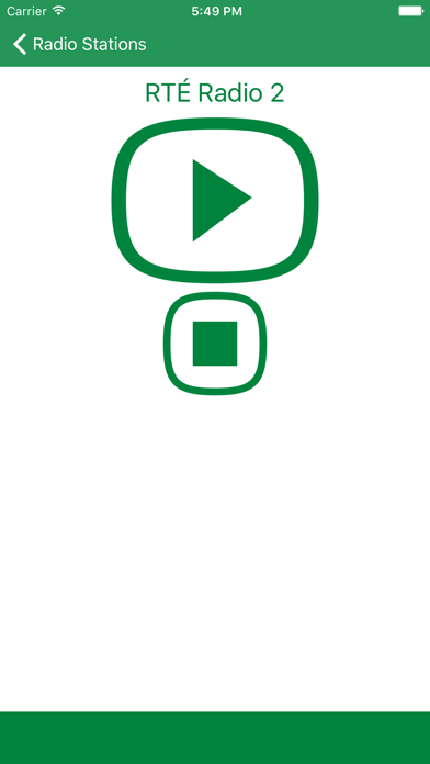 Radio Ireland FM - Stream and listen to live online music, news channel and raidió show with Irish streaming station player screenshot two
