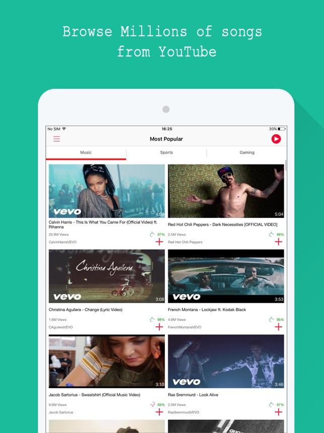 Miễn phí âm nhạc - For Youtube Music Video