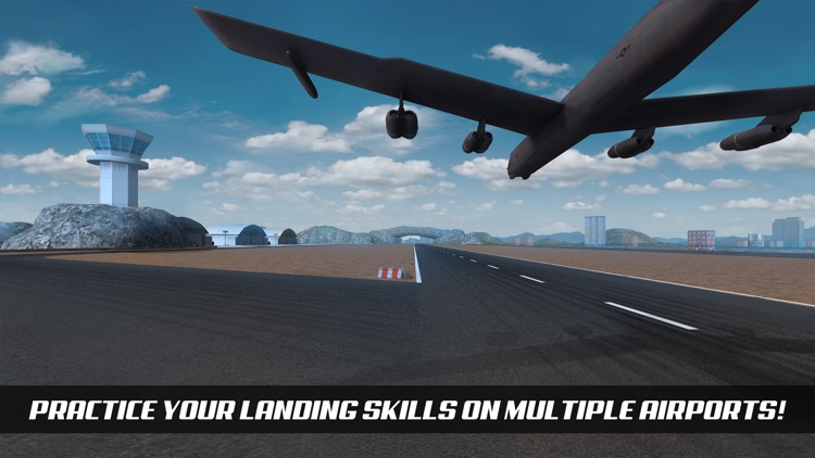 Airplane Alert Extreme Landing 3D screenshot-2