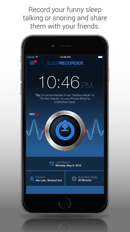 Sleep Talk & Snoring Recorder Free