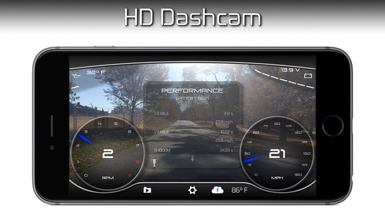 DashSketch - Dash Cam, Speed Monitoring, OBD2 & Navigation.