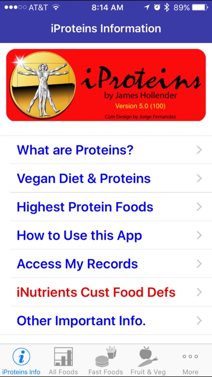 iProteins - iNutrient: Proteins