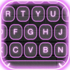 Neon LED Keyboard Themes – Electric Color Keyboards with Glow Backgrounds, Emoji and Fonts