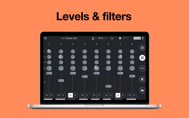Remixlive - drum & play loops for Mac
