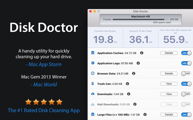 Disk Doctor: System Cleaner Screenshot