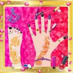 Princess Manicure & Pedicure - Nail art design and dress up salon game