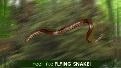 Ataque de serpiente real de vuelo Simulador: Wild Hunt-Vida Los animales en el bosqueCaptura de pantalla de5