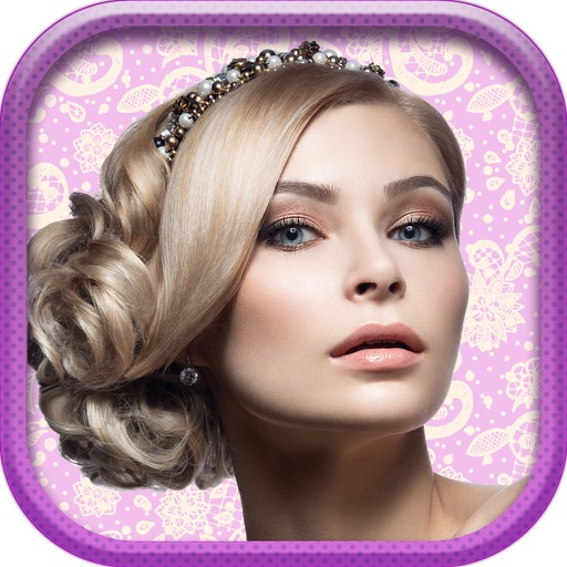 Wedding Hairstyles Ideas 2016 – Fashion Hair Salon Photo Booth For Bride.s with Camera Stickers