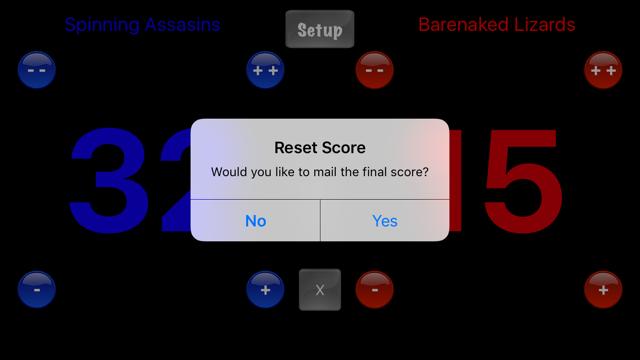 Score Keeper HD Lite Screenshot