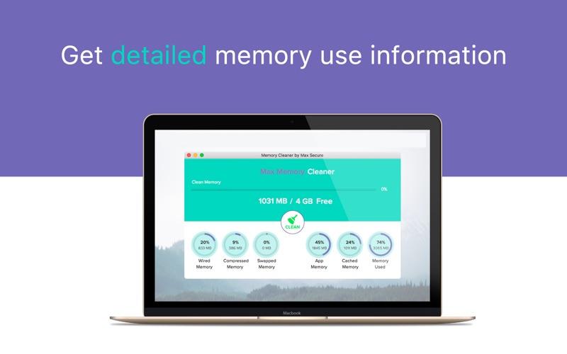 Memory Cleaner by Max Secure скриншот программы 3
