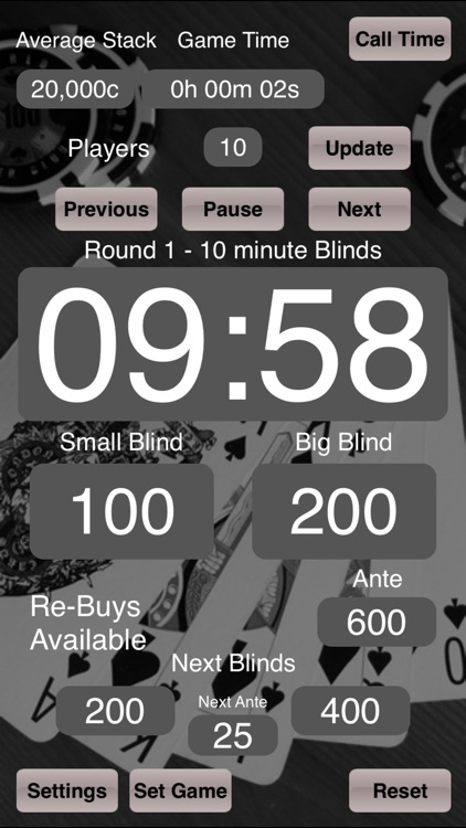 Poker Blinds Timer screenshot-0