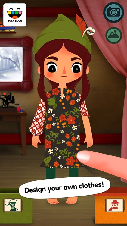 Toca Tailor Fairy Tales screenshot-0