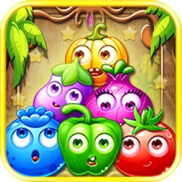 BomBom Fruit: Line Match Combos